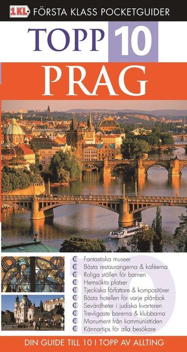 bokomslag Prag : topp 10