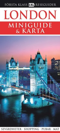 bokomslag London - Miniguide & karta