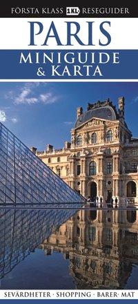 Paris - Miniguide & karta