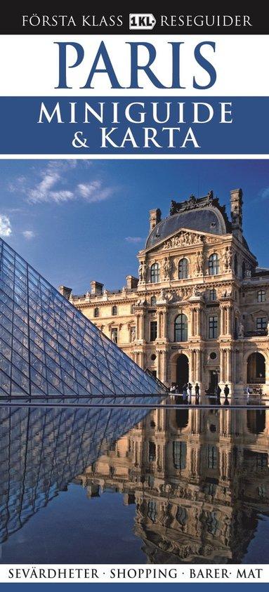 bokomslag Paris - Miniguide & karta