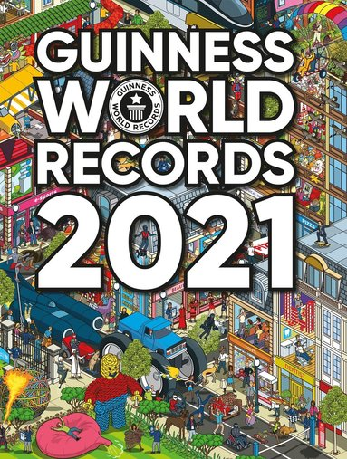 bokomslag Guinness World Records 2021