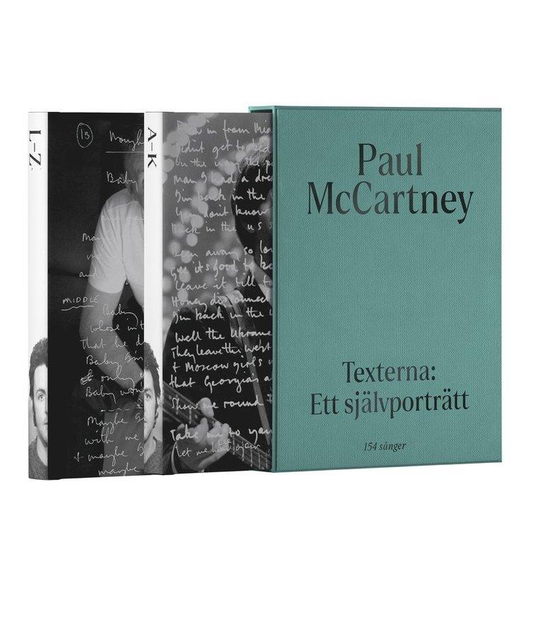 Paul McCartney: Texterna. Ett självporträtt : Mitt liv i 154 sånger 1