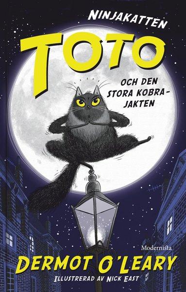 bokomslag Ninjakatten Toto och den stora kobrajakten