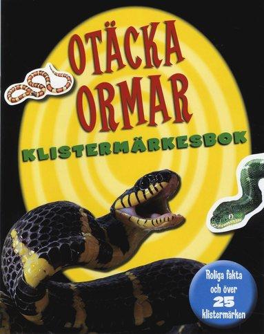 bokomslag Otäcka ormar klistermärkesbok