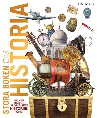 bokomslag Stora boken om historia
