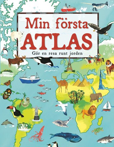 bokomslag Min första atlas