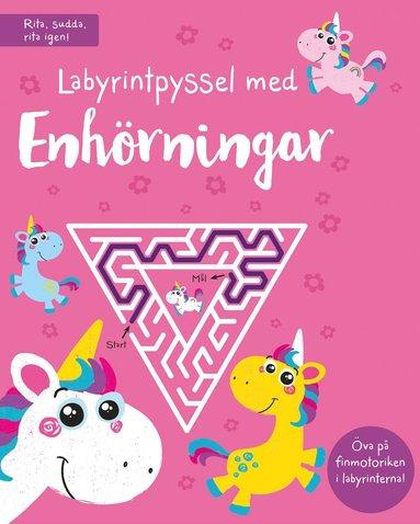 bokomslag Labyrintpyssel med enhörningar