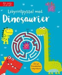 bokomslag Labyrintpyssel med dinosaurier