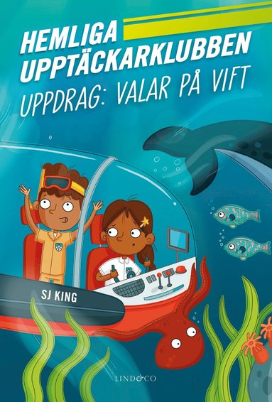 bokomslag Hemliga upptäckarklubben - Uppdrag: Valar på vift