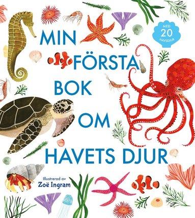 bokomslag Min första bok om havets djur