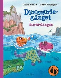 bokomslag Dinosauriegänget - Simtävlingen