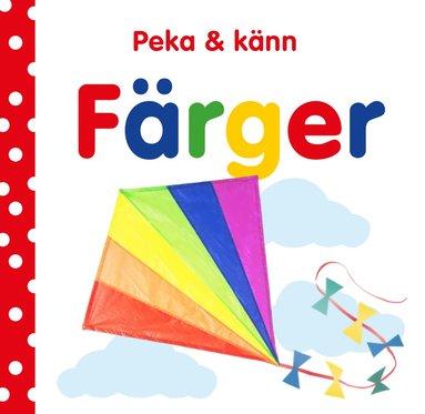 bokomslag Peka och känn - Färger