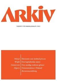 bokomslag Arkiv. Tidskrift för samhällsanalys nr 8