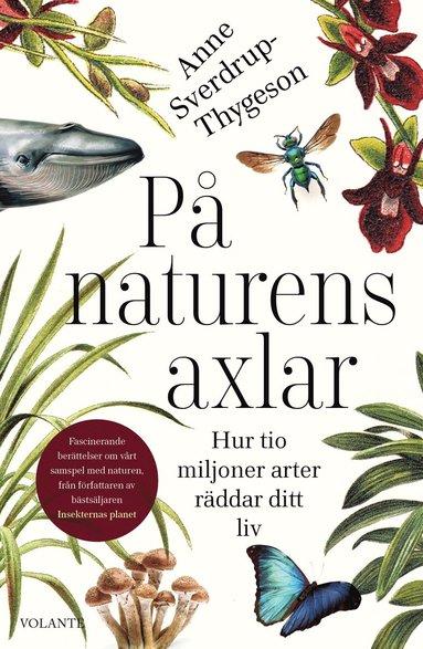 bokomslag På naturens axlar : hur tio miljoner arter räddar ditt liv