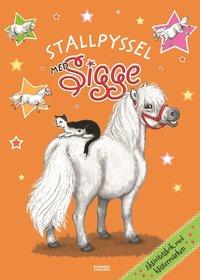 bokomslag Stallpyssel med Sigge; klistermärken