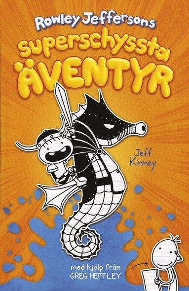 bokomslag Rowley Jeffersons superschyssta äventyr