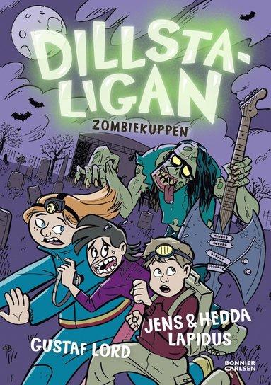 bokomslag Dillstaligan: Zombiekuppen