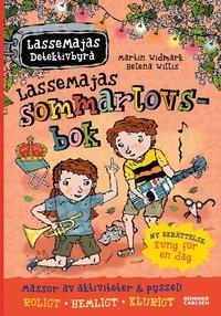 bokomslag LasseMajas sommarlovsbok. Kung för en dag
