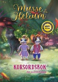bokomslag Musse & Helium. Korsordsbok