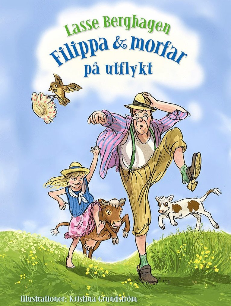 Filippa & morfar på utflykt 1