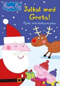bokomslag Julkul med Greta! : pyssla med klistermärken