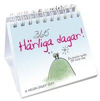 bokomslag 365 härliga dagar : en positiv tanke för varje dag