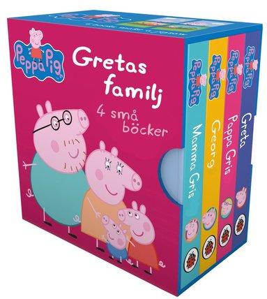 bokomslag Gretas familj 4 små böcker