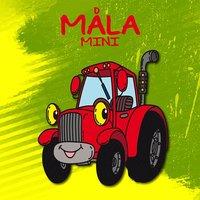 bokomslag Måla mini. Traktor