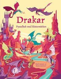 bokomslag Drakar : pysselbok med klistermärken