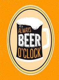 bokomslag It's always beer o'clock