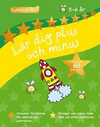 bokomslag Lär dig plus och minus 5-6 år