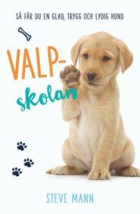 bokomslag Valpskolan : så får du en glad, trygg och lydig hund