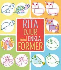 bokomslag Rita djur med enkla former