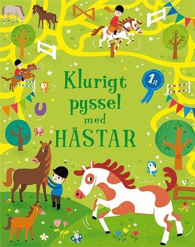 bokomslag Klurigt pyssel med hästar