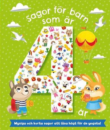 bokomslag Sagor för barn som är 4 år