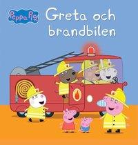 bokomslag Greta Gris: Greta och brandbilen