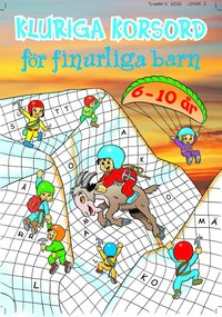 bokomslag Kluriga korsord för finurliga barn