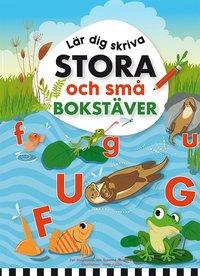 bokomslag Lär dig skriva stora och små bokstäver