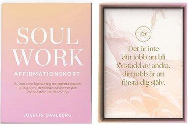 bokomslag Soul Work - affirmationskort (bok + kort)