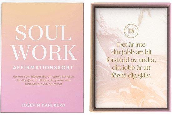 Soul Work - affirmationskort (bok + kort) 1
