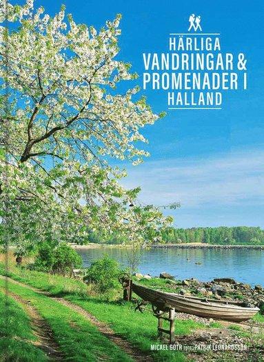 bokomslag Härliga vandringar & promenader i Halland