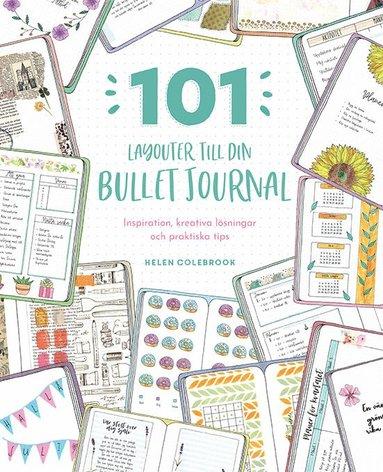 bokomslag 101 layouter till din bullet journal