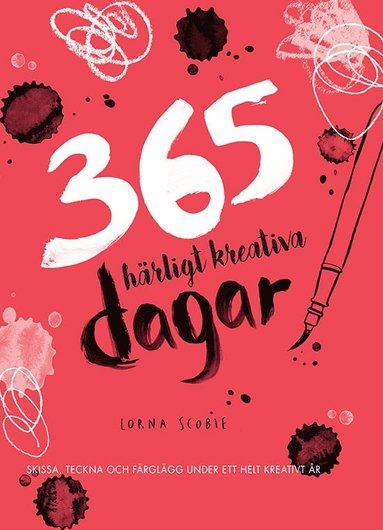 bokomslag 365 härligt kreativa dagar