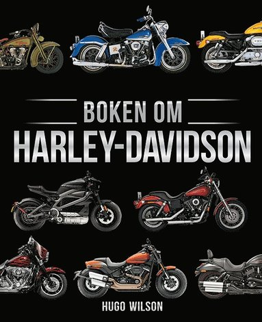 bokomslag Boken om Harley-Davidson