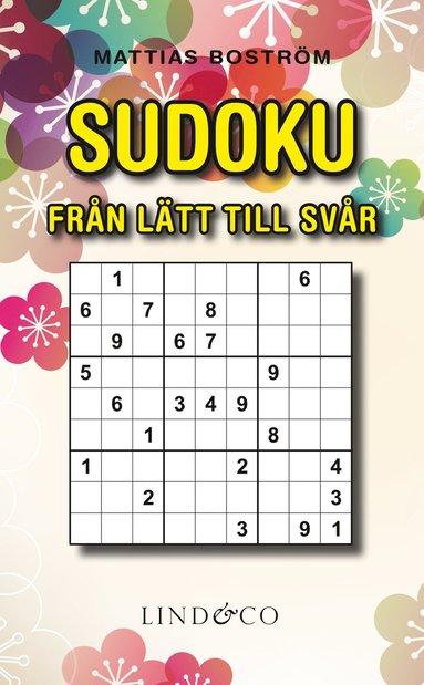 bokomslag Sudoku - Från lätt till svår