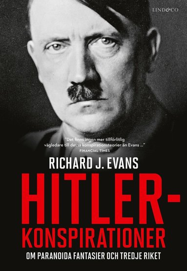 bokomslag Hitlerkonspirationer - Om paranoida fantasier och Tredje riket