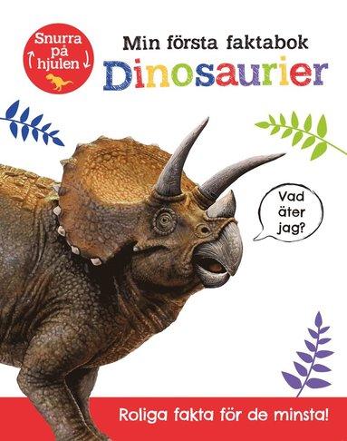 bokomslag Min första faktabok : dinosaurier