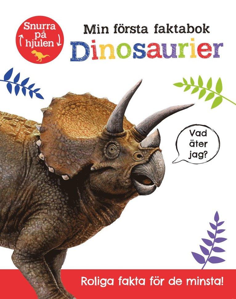 Min första faktabok : dinosaurier 1