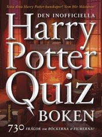 bokomslag Den inofficiella Harry Potter-quizboken