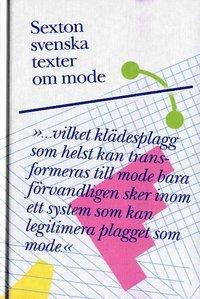 bokomslag Sexton svenska texter om mode
